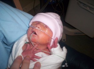NICU 2 weeks old